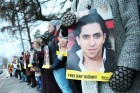 Raif Badawi, winner of the first Difference Day Honorary Title for the Freedom of Expression in 2015
